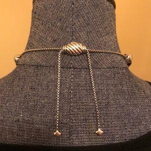 David Yurman Classic Ball Adjustable Necklace